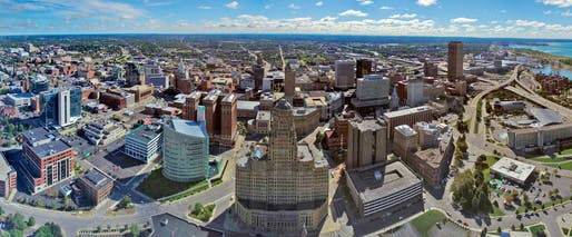 Buffalo's population has grown for the first time in nearly 70 years. Image courtesy of Wikimedia user Pete716.