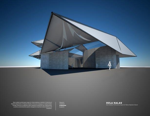 Hula Halau / Semi Outdoor Performance Space