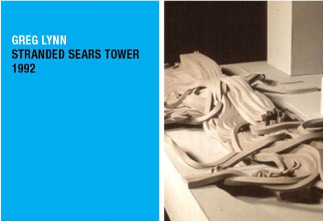 Greg Lynn's 'Stranded Sears Tower'. Courtesy of The Atlantic Cities.