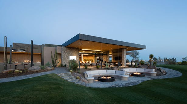 Seven Desert Mountain Clubhouse