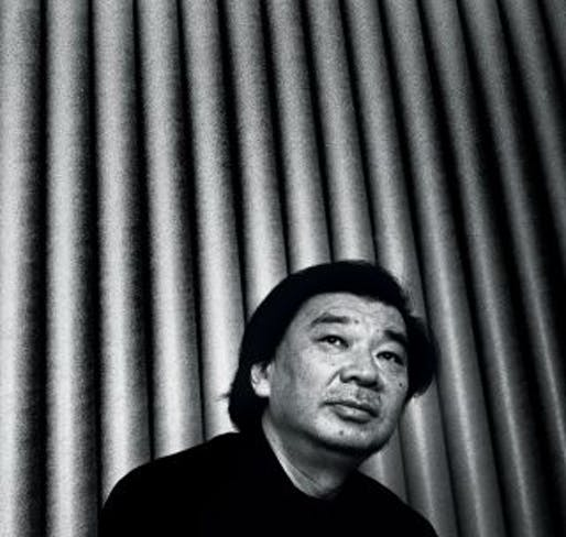 "Ban, who has been celebrated for his socially conscious architecture, says, ""I have no interest in 'Green,' 'Eco,' and 'Environmentally Friendly.' I just hate wasting things.' (The New Yorker; Credit Photograph by Kosuke Okahara)"