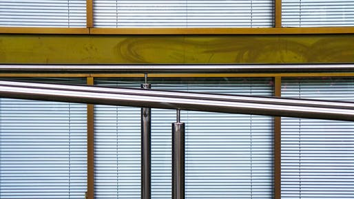 Ramp handrail Image © Theen Moy