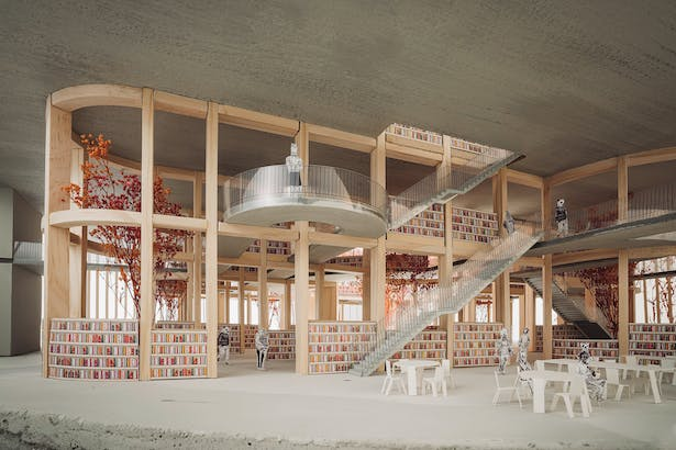 Reading Area (photo by Tim Dongho Yun)