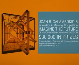 Joan B. Calambokidis Innovation in Masonry Design Competition