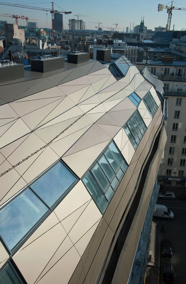 Urban Reflections in Vienna, Austria by HOLODECK architects; Photo © Pasteiner