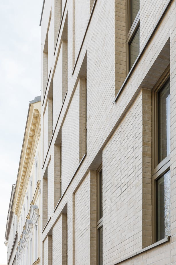 facade, detail