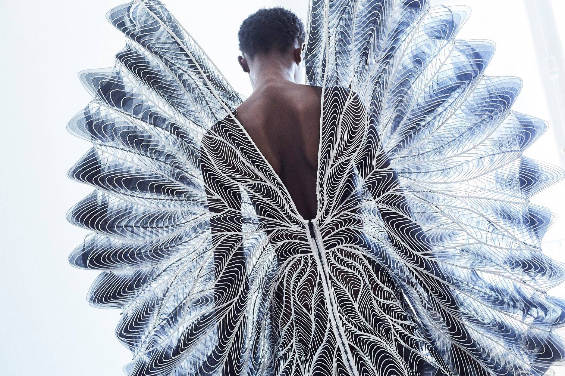 The Future Of Couture Is A Blend Of Fashion Technology And Architecture News Archinect