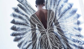 The future of couture is a blend of fashion, technology, and architecture