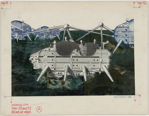 Walking City, by Archigram.
