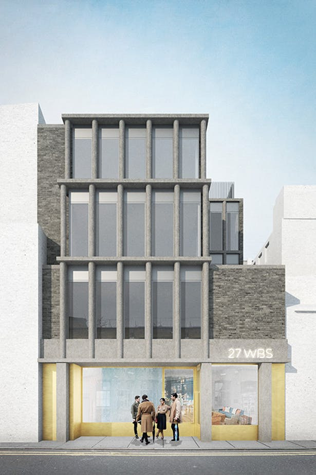 Whitby Street elevation