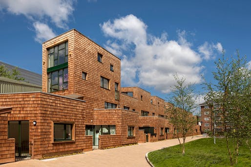 Peter Barber's Beveridge Mews estate in London won a RIBA National Award in 2013. Photo: Morley von Sternberg.