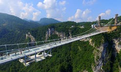 World's longest and highest glass bridge opens in China