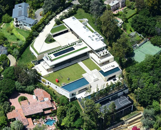 Beyoncé and Jay Z's new Paul McClean-designed Bel Air pad ranks among the most expensive homes sold this year at reportedly $90m. Image via pagesix.com