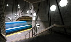 Gorgeous long-exposure shots of the Montreal Metro