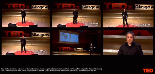 TEDx talk | Regenerating Glasgow: The Commonwealth Village | Paul Stallan |