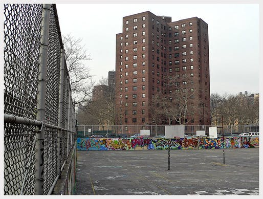 The George Washington Carver Houses, a public housing development built by the NYCHA in 1958 (Wikimedia Commons)