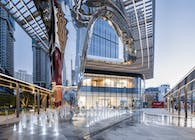 The Sculptural Canopy at Sungang MixC is Complete