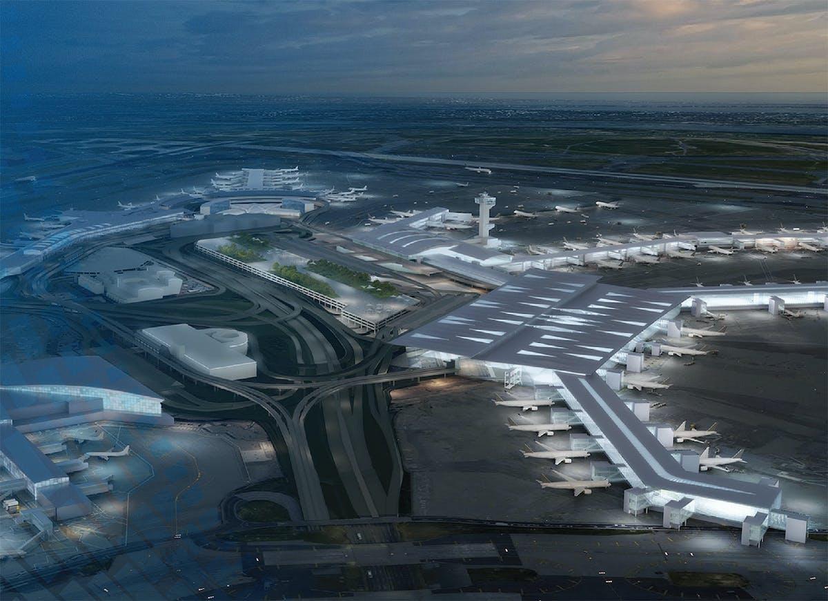 Renovation JFK International Airport in New York will cost