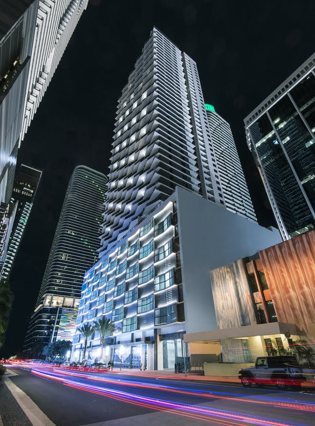 Solitair Brickell is the latest luxury high-rise gracing Miami's evolving skyline.