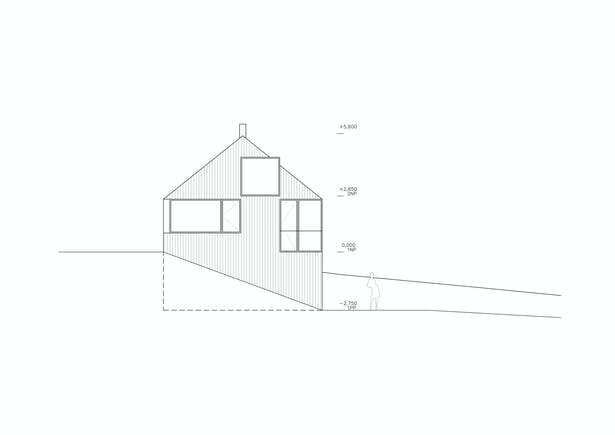 Northwest Elevation Fránek architects