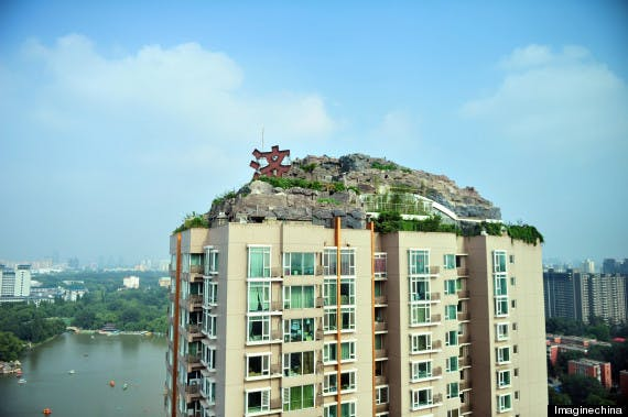 For The Past Six Years Professor Zhang Lin Has Been Moving Rocks And Rubble To Construct His Dream Mountain Home In Renji Area Of Beijing