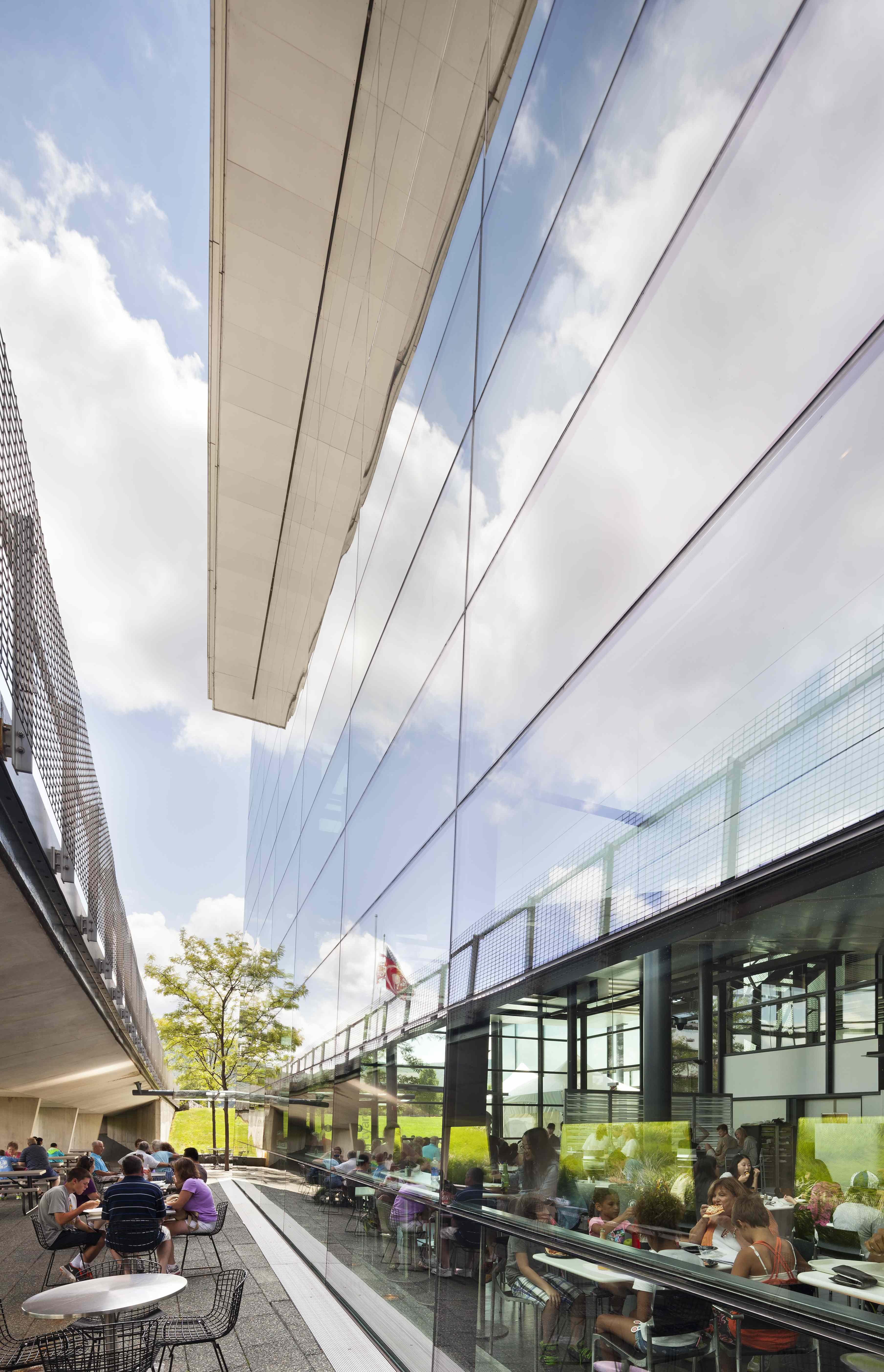 Miller Auto Group >> Corning Museum of Glass | Smith-Miller + Hawkinson Architects | Archinect
