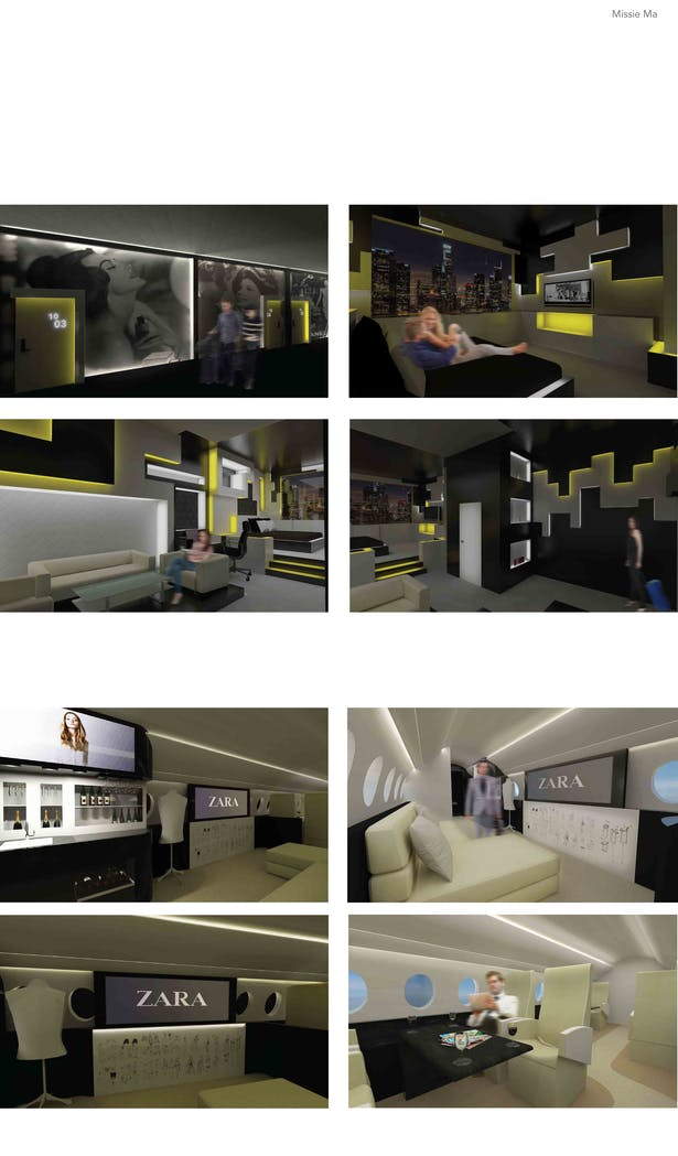Hotel Project + Private Jet Project Renderings