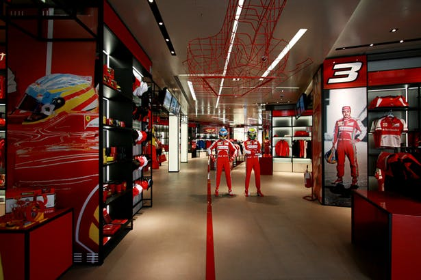 Ferrari Store Maranello - Fan Area