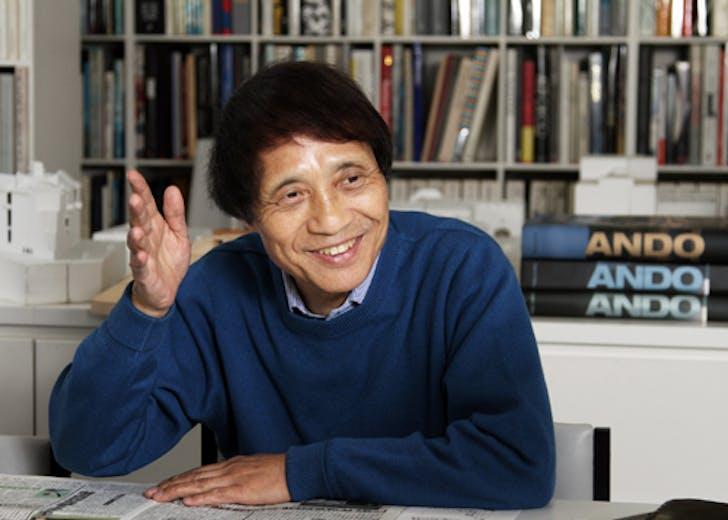 Tadao Ando, autodidact. Image: Clark Archive.