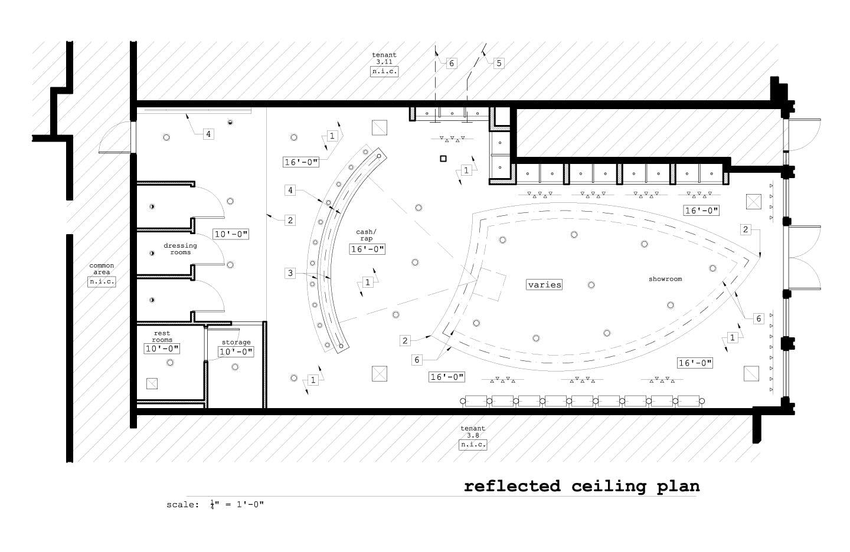 Tustin Auto Center >> Madison Bleu Retail Store | GO design | Archinect