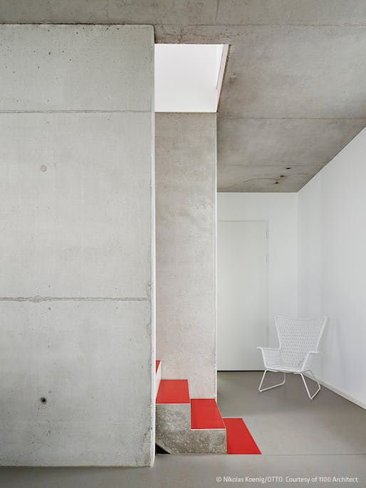 The White City House in Frankfurt-Riedberg, Germany by 1100 Architect; Photo: Nikolas Koenig/OTTO