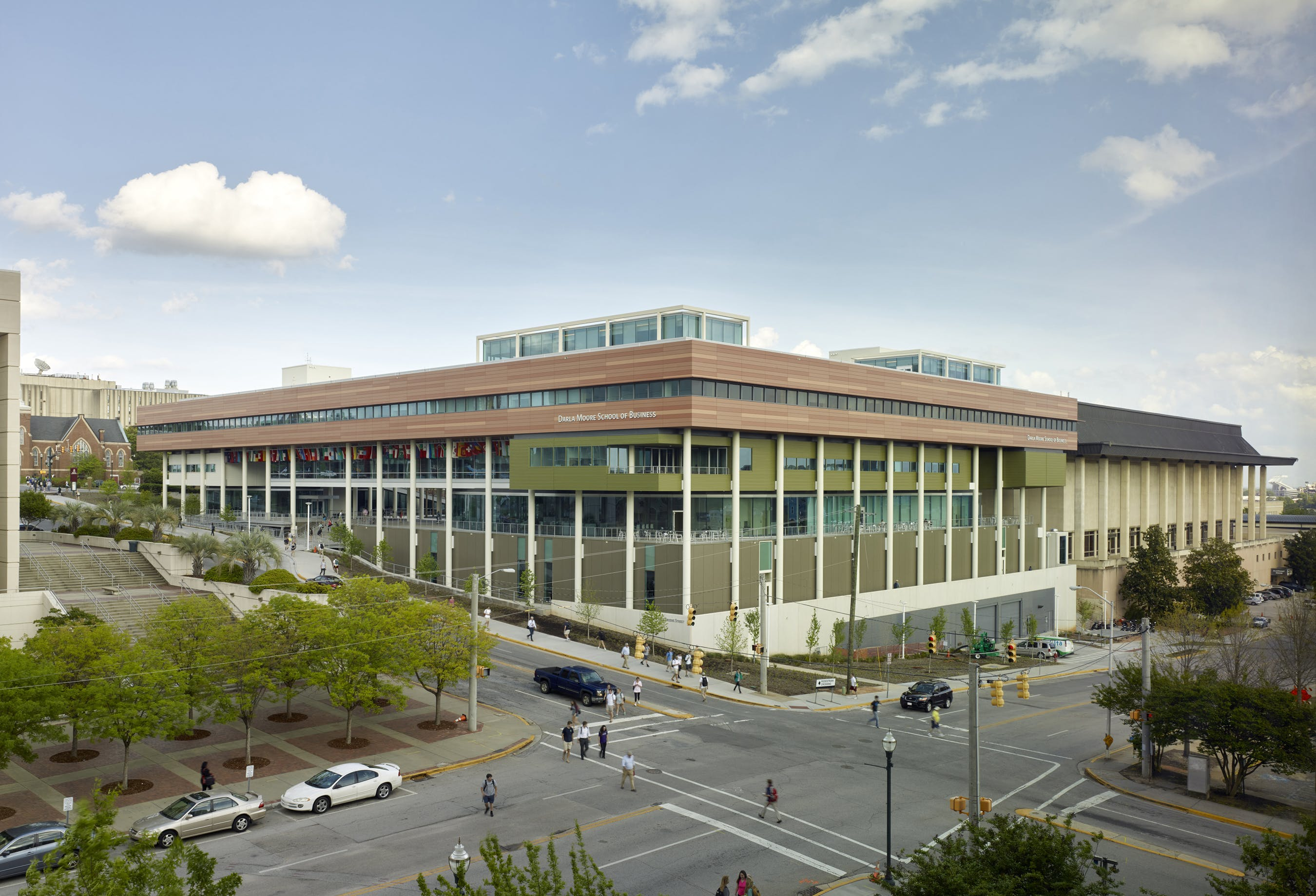 Business School On Path To Becoming Largest Net Zero Energy Building In Southeastern United