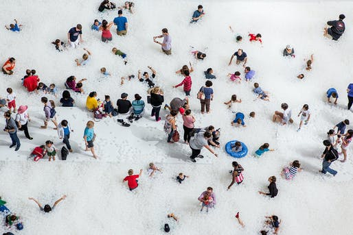 The BEACH at the National Building Museum last summer. Photo by Noah Kalina.