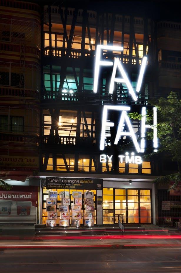 Fai Fah Prachautis lit up