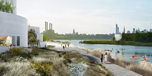 The Tanks at Bushwick Inlet Park by STUDIO V Architecture © Studio V Architecture and Ken Smith Workshop