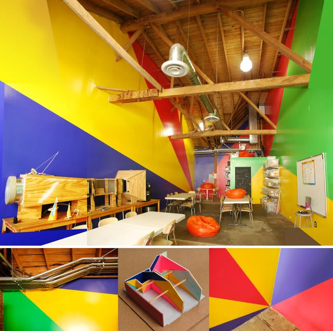 Children's Science Studios in Los Angeles, CA by Ioana Urma (Paint Design)
