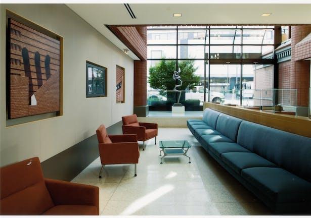 Custom seating at Lobby