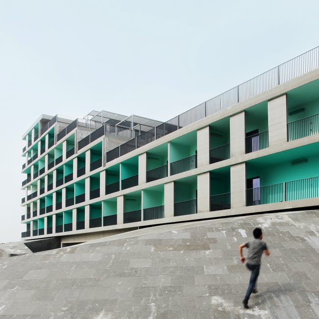 Stepped Courtyards in Fuzhou, China by OPEN Architecture
