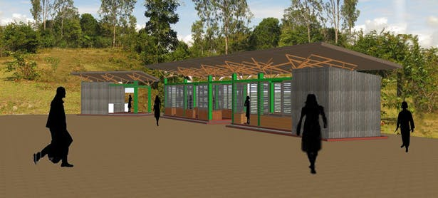 Training pavilion complex
