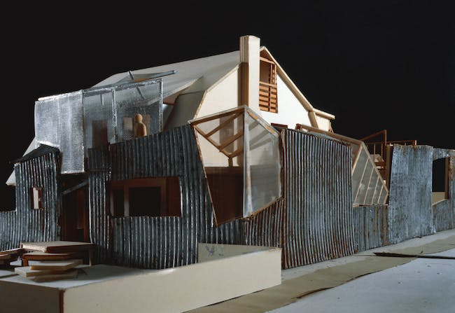 Model of Gehry Residence. Image courtesy of LACMA