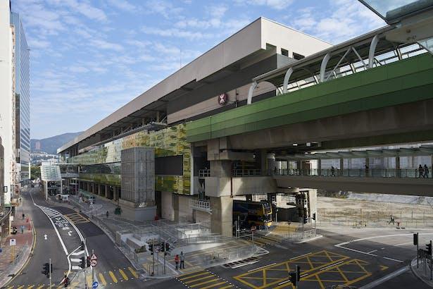 MTR Wong Chuk Hang Station, Hong Kong, by Aedas