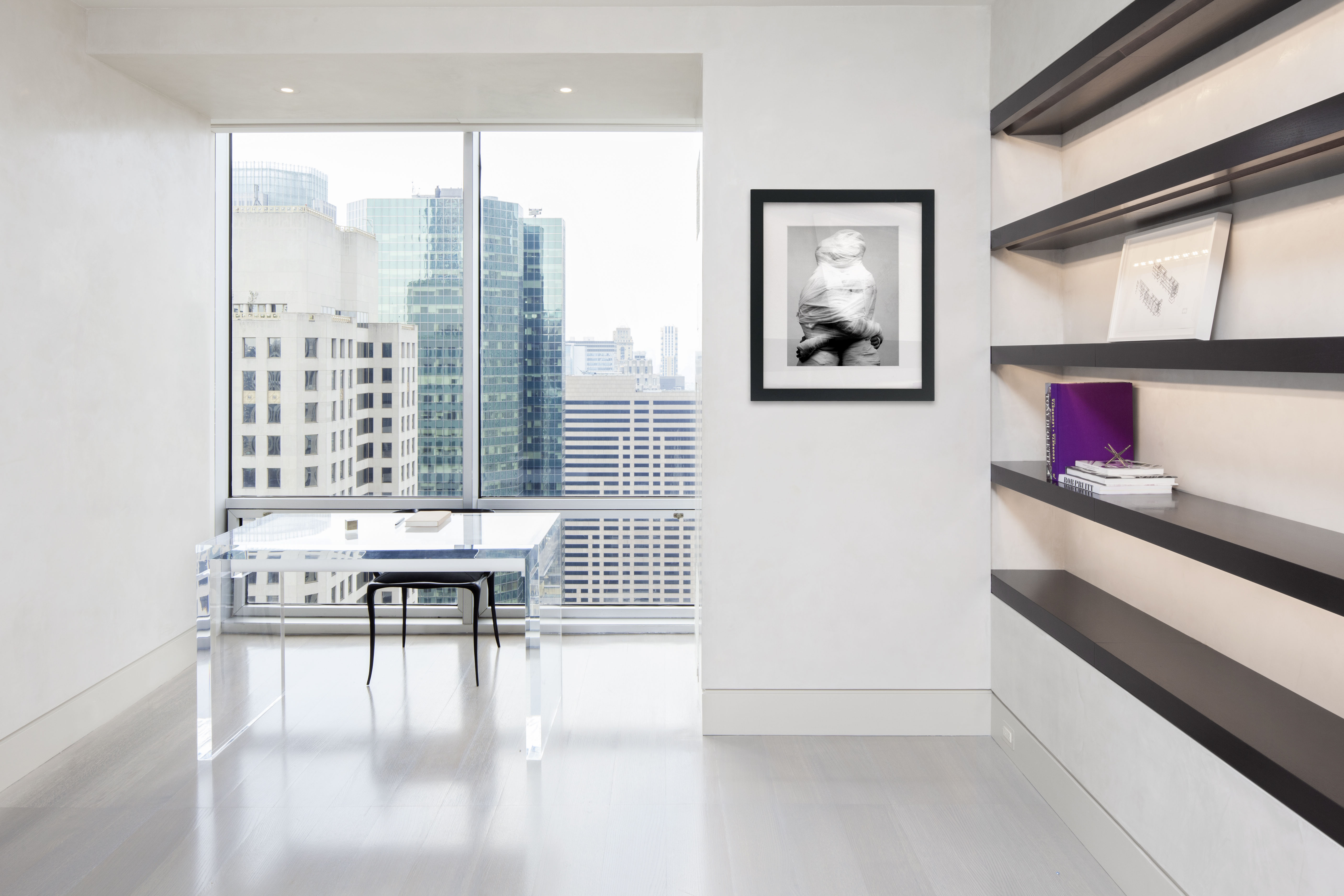Olympic Tower apartment Interior in The Wall Street Journal Rafael