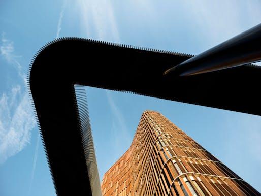 Higher Education & Research - Completed Buildings Winner: C.F. Møller Architects, Maersk Tower, Copenhagen, Denmark.