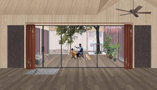 3RD PLACE: One Grid One Community by Zihao Wei of the University of Waterloo   Canada.