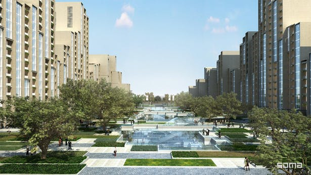 Aura Mixed Use Design by Michel Abboud