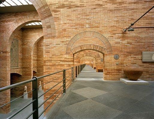 National Museum of Roman Art, 1986 Mérida, Spain. Courtesy of Rafael Moneo Architects. Photo © Michael Moran