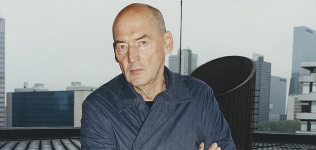 The architect Rem Koolhaas, 67. Koolhaas' habit of shaking up established conventions has made him one of the most influential architects of his generation. (Photo: Tung Walsh)