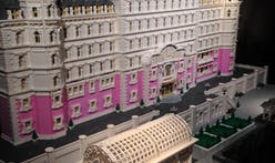 "Building Wes Anderson's ""Grand Budapest Hotel"" out of 50,000 Legos"