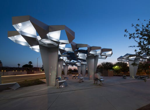 Shadow Play in Phoenix | Howeler + Yoon Architecture, LLP. Photo © Matt Winquist.