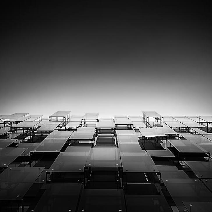 'Glass symphony', office building EUR district, Rome. © Pygmalion Karatzas